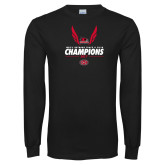 Bookstore Black Long Sleeve T Shirt-2017 OVC Mens Outdoor Track and Field Champions