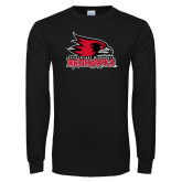 Bookstore Black Long Sleeve T Shirt-Primary Logo