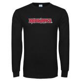Bookstore Black Long Sleeve T Shirt-Redhawks