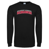 Bookstore Black Long Sleeve T Shirt-Southeast Missouri Redhawks Arched