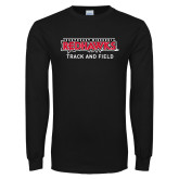 Bookstore Black Long Sleeve T Shirt-Track and Field