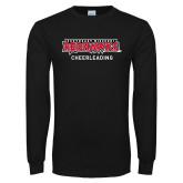 Bookstore Black Long Sleeve T Shirt-Cheerleading