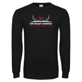 Bookstore Black Long Sleeve T Shirt-Football