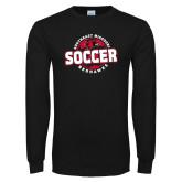 Bookstore Black Long Sleeve T Shirt-Soccer
