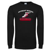 Bookstore Black Long Sleeve T Shirt-Track & Field