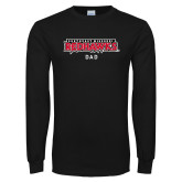 Bookstore Black Long Sleeve T Shirt-Dad