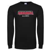 Bookstore Black Long Sleeve T Shirt-Alumni