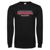 Bookstore Black Long Sleeve T Shirt-Grandpa