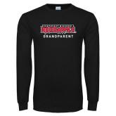 Bookstore Black Long Sleeve T Shirt-Grandparent