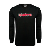State Black Long Sleeve TShirt-Redhawks