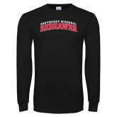 State Black Long Sleeve TShirt-Arched Southeast Missouri Redhawks