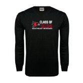 Black Long Sleeve TShirt-Class of Outline