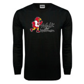 Black Long Sleeve TShirt-Walk For Redhawks