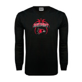 Black Long Sleeve TShirt-Graphics in Basketball