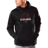 Bookstore Under Armour Black Armour Fleece Hoodie-Volleyball