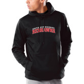 Bookstore Under Armour Black Armour Fleece Hoodie-Southeast Missouri Redhawks Arched