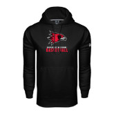 Under Armour Black Performance Sweats Team Hood-Basketball