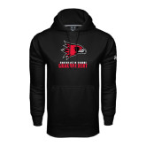 Under Armour Black Performance Sweats Team Hoodie-Grandparent