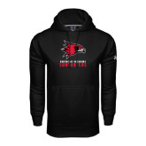 Under Armour Black Performance Sweats Team Hood-Sundancers