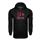 Under Armour Black Performance Sweats Team Hoodie-Gymnastics