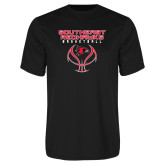 Bookstore Performance Black Tee-Basketball
