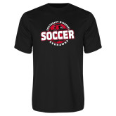 Bookstore Performance Black Tee-Soccer