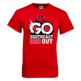 Red T Shirt-GO Southeast Red Out