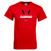 Bookstore Red T Shirt-2017 OVC Mens Outdoor Track and Field Champions
