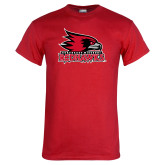 Bookstore Red T Shirt-Primary Logo