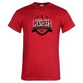 Bookstore Red T Shirt-Playoffs Football Design 2018