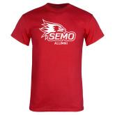 Bookstore Red T Shirt-Alumni