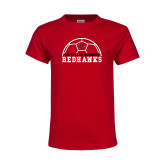 Bookstore Youth Red T Shirt-Soccer