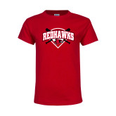 Bookstore Youth Red T Shirt-Softball
