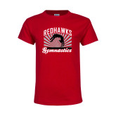 Bookstore Youth Red T Shirt-Gymnastics