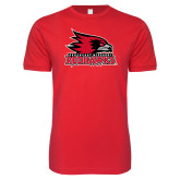 Bookstore Next Level SoftStyle Red T Shirt-Primary Logo
