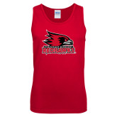 Bookstore Red Tank Top-Primary Logo