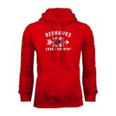 Red Fleece Hoodie-Redhawks XC