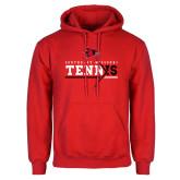 Bookstore Red Fleece Hoodie-Tennis