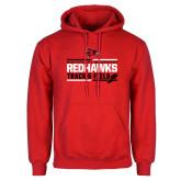 Bookstore Red Fleece Hoodie-Track & Field