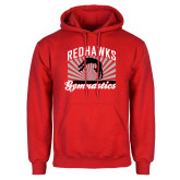Bookstore Red Fleece Hoodie-Gymnastics