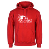 Bookstore Red Fleece Hoodie-SEMO Logo