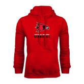 Red Fleece Hoodie-Gymnastics