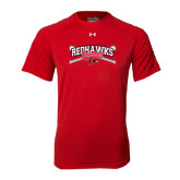 Under Armour Red Tech Tee-Baseball Bats