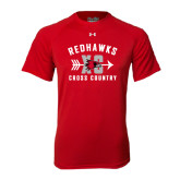 Under Armour Red Tech Tee-Redhawks XC