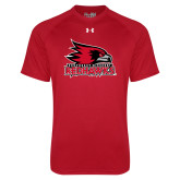 Bookstore Under Armour Red Tech Tee-Primary Logo