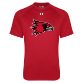 Bookstore Under Armour Red Tech Tee-Hawk Head