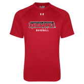 Bookstore Under Armour Red Tech Tee-Baseball