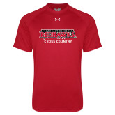 Bookstore Under Armour Red Tech Tee-Cross Country