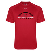 Bookstore Under Armour Red Tech Tee-Football