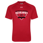 Bookstore Under Armour Red Tech Tee-Softball